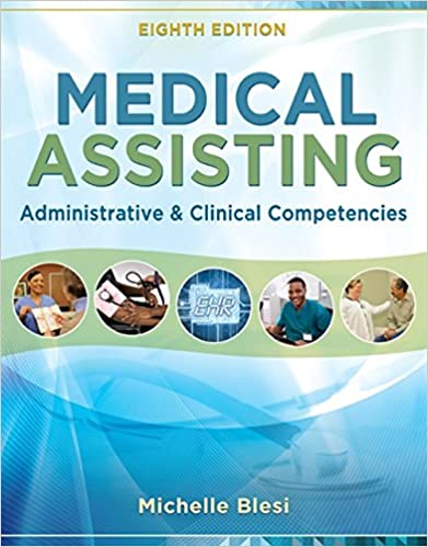 Medical Assisting Administrative And Clinical Competencies 9781305110700 Medicine Health Science Books Amazon Com