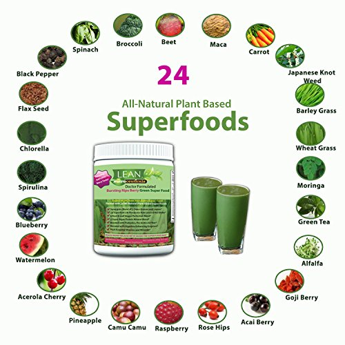 photo Wallpaper of LEAN Nutraceuticals-Green Superfood Powder   Super Greens Doctor Formulated-