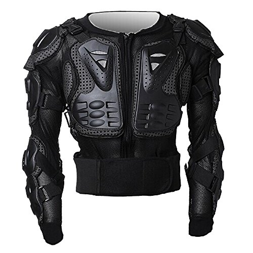 WOLFBIKE Sport Jacket Motorcycle Racing Body Protective Armor, Jacket, Size L (Chest Plate Armor)