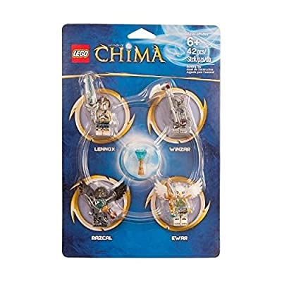 LEGO 850779 Legends of Chima Minifigure Accessory Set by LEGO: Toys & Games