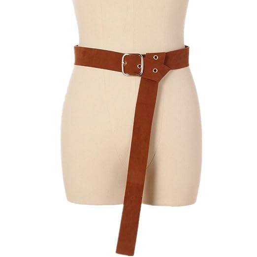 Sikungjlk Cinturón de Vestir Vintage Cinturón de Mujer con una ...