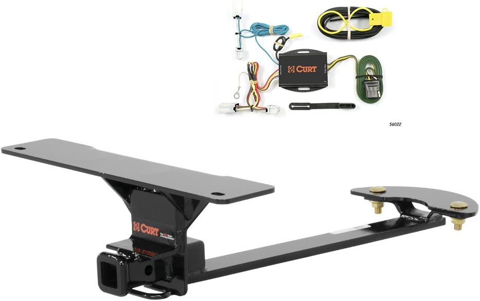 11370 /& 56022 CURT Class 1 Trailer Hitch Bundle with Wiring for 2007-2012 Nissan Sentra