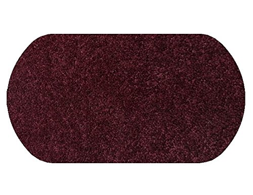 "6'X9′ OVAL Area Rug Carpet. ROYAL BURGANDY RED 30 oz. ½"" Thick. 100% Polyester fiber, Medium Density, Soft and Durable. MULTIPLE SIZES, SHAPES and Brilliant Colors."