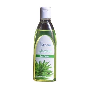 Le Fleur Aloe Vera Face Wash 100ml Amazon In Beauty