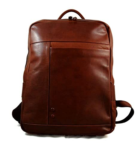 Mochila de piel vintage mochila piel mochila marron hombre mujer mochila de viaje mochila de cuero