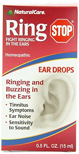 NaturalCare Ringstop Ear Drops 0 5 Ounce product image