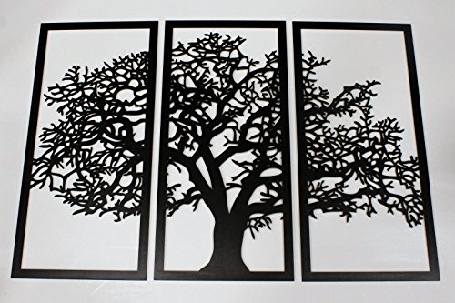 Tree Of Life 3D Ebony