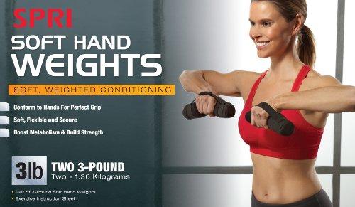 SPRI Soft Hand Walking Weights