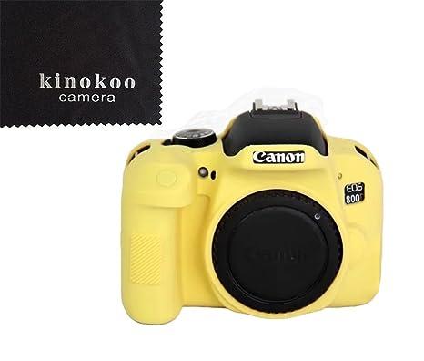 kinokoo Estuche para cámara Canon fabricado en material de ...
