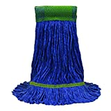 O'Cedar Commercial 97156 MaxiClean Loop-End Mop, Medium, Blue (Pack of 12)