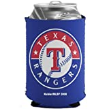 MLB Texas Rangers Royal Blue Collapsible Can Koozie
