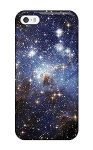 High Grade DanielFletcher Flexible Tpu Case For Iphone 5/5s - Glittery Space