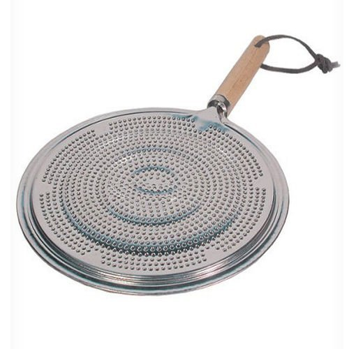2 x SIMMER RING PAN MAT HEAT DIFFUSER FOR ELECTRIC OR GAS COOKER - DIAMETER 21cm B00FNOJRYI