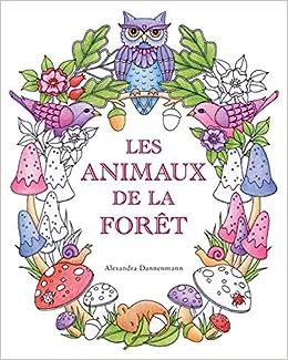 Coloriage Gratuit Foret.Amazon Fr Les Animaux De La Foret Un Livre De Coloriage