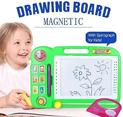 ZHIZU Magische Zeichentafel Magnetisch Tafel Magnettafel
