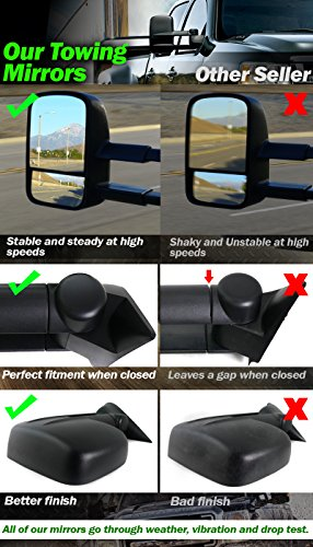 Side Mirror For 2007 2013 Chevy Gmc Silverado Sierra