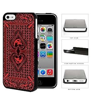Red Skull Bandana Hard Plastic Snap On Cell Phone Case Apple iPhone 5c
