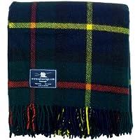 Macleod of Harris Premium Wool Tartan Throw