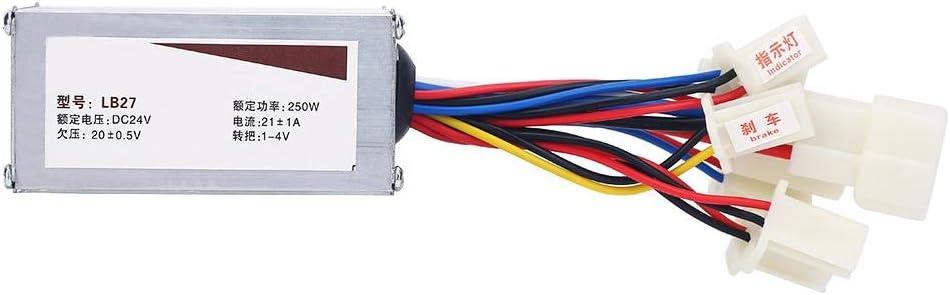 Controlador para Motor con Escobillas, 24V 250W Controlador Motor ...