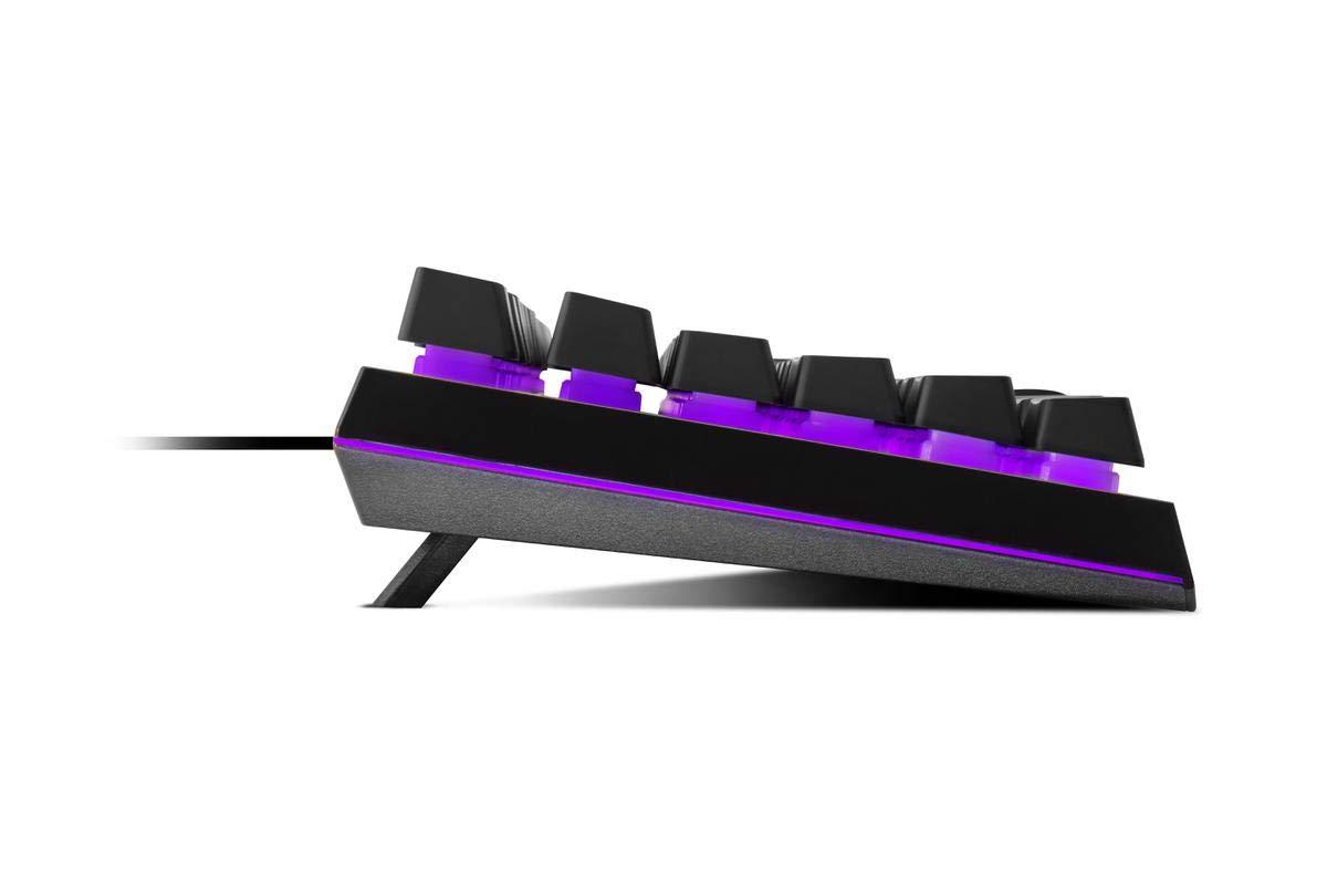 - Souris Semi-M/écanique Gaming RGB - AZERTY Cooler Master Kit Clavier//Souris 3200 dpi, RGB MS110 PC//Consoles - Noir
