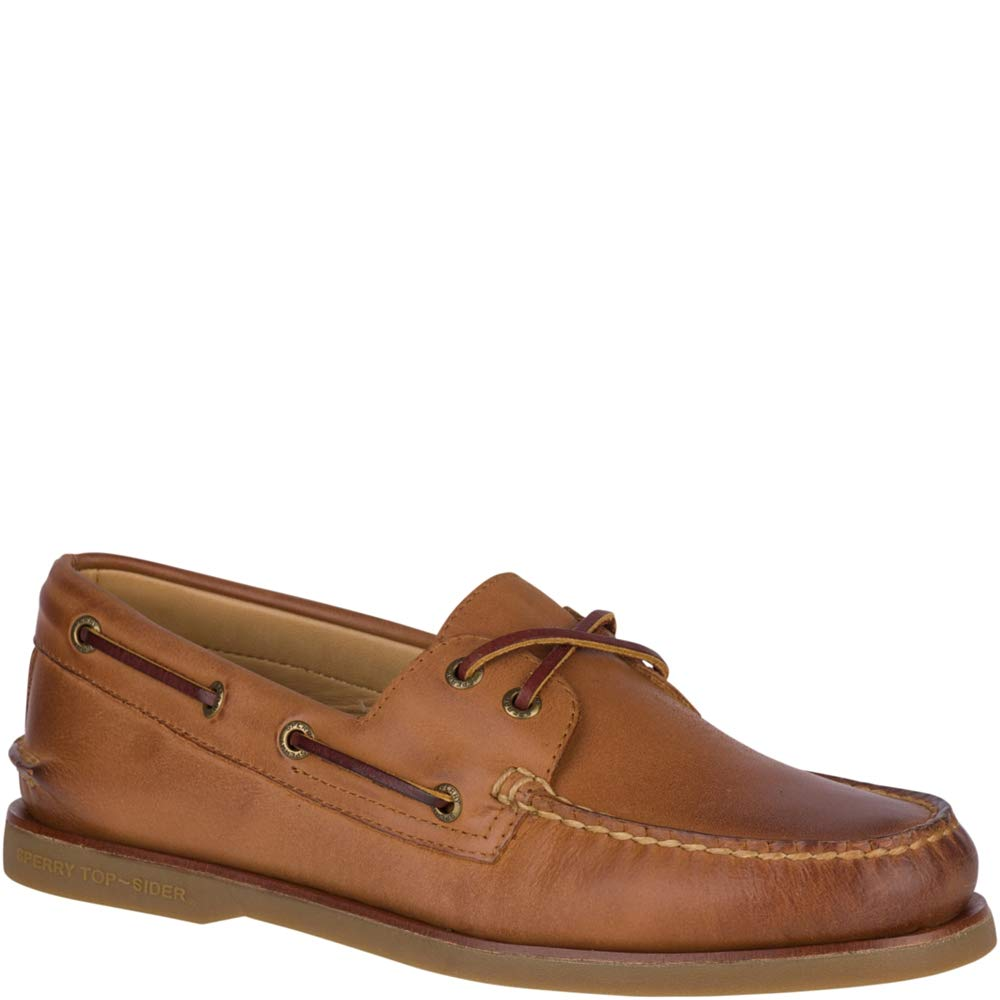 Sperry Men's Gold A/O 2-Eye Ginger 13 W US by Sperry (Image #2)