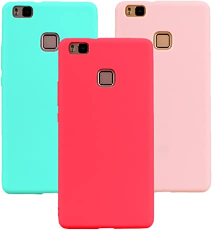 3x Cover per Huawei P9 Lite, OUJD Huawei P9 Lite Cover Silicone ...