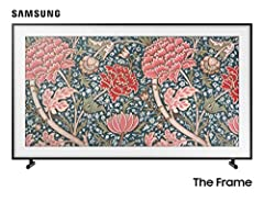 With revolutionary Art Mode and the power of 4K UHD, the Samsung QN65LS03RAFXZA Frame 65-Inch QLED 4K LS03 Series Ultra HD Smart TV transforms from TV to beautiful, lifelike art that fits seamlessly into your home and décor. Powered by Quantu...