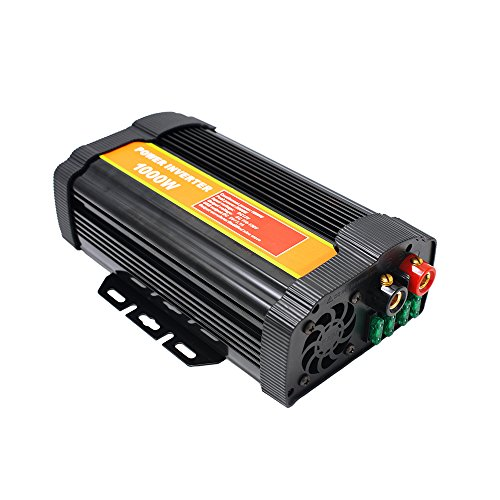 1000 Watt 12V Power Inverter Dual 110V AC Outlets with 2.1A Dual USB Car Adapter for Blenders, Vacuums, Power Tools. by SPEAUTO (Image #2)