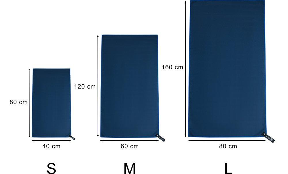 geringes Packma/ß iOTA Ultraleichtes Mikrofaser-Reise-Handtuch schnelltrocknend antibakteriell