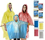 Rain Ponchos Family Pack Kids Teens and Adult Rainware...