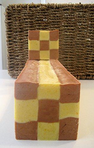 Ginger Soap Loaf, All Natural Soap Log, Wholesale Soap Loaves, Vegan Soap loaf , essential oil soap, Wedding Favors, palm free , fancy soap - Ginger Loaf