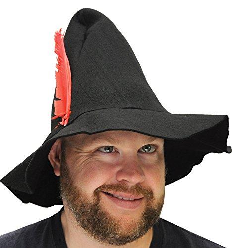 Black Hillbilly Adult Hat -