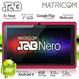 7″ Matricom .TAB Nero Tablet PC – Android 4 Capacitive Multi-Touch 4GB (Pink) image