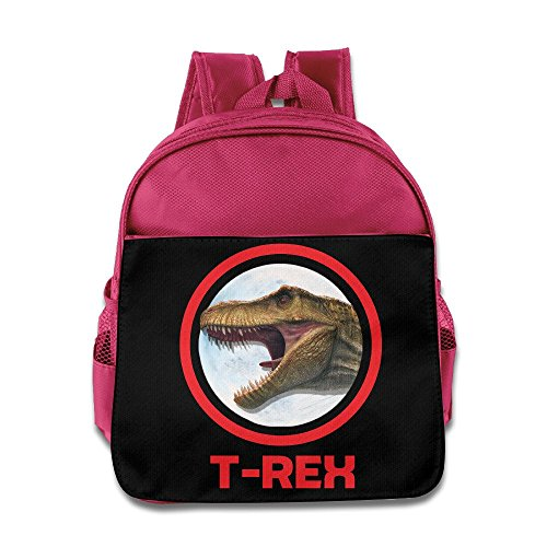 [Logon 8 T REX Cute School Backpacks Pink For 3-6 Years Olds Kid] (Thunder Lightning Costume)