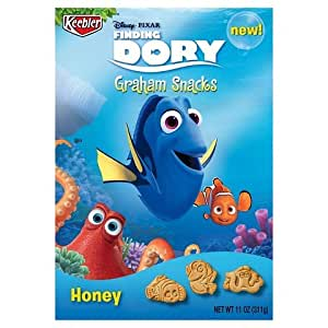 Keebler Finding Dory Graham Crackers, Honey 11-oz Boxes (Pack of 2)
