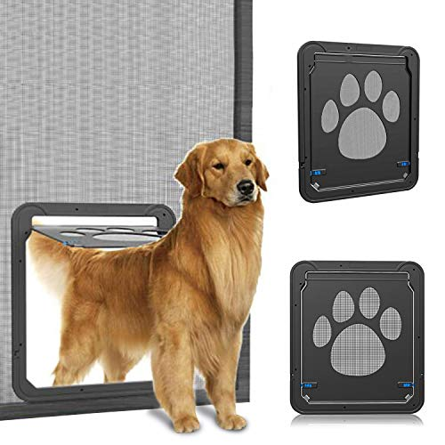 OWNPETS Dog Screen Door, Lockable Pet Screen Door, Magnetic Self-Closing Screen Door with Locking Function, Sturdy Screen Door for Dog Cat by OWNPETS (Image #10)