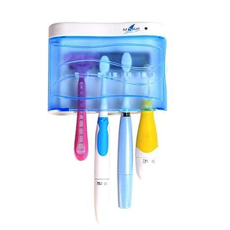 Wekity - Soporte Profesional para Cepillo de Dientes de Pared para desinfección UV, para el