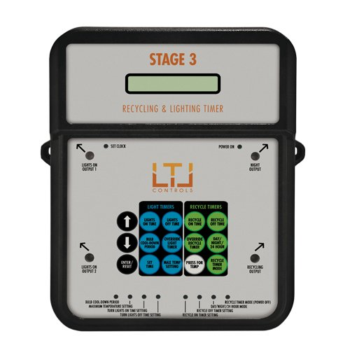 LTL Control Stage 3 Controller -Recycling & Lighting Timer