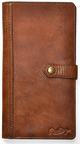 Rawlings Rugged Passport Wallet (One Size, Brown) by Rawlings
