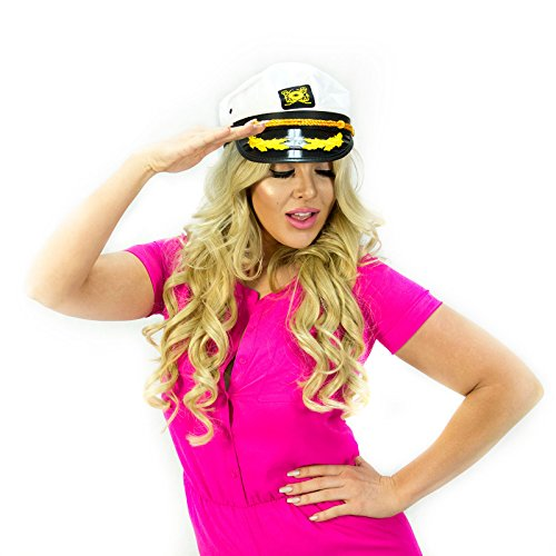 Adorox Yacht Captain Hat Sailor Captain Cap Navy Marine Hat (Salior Hat)