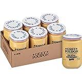 Grey Poupon Dijon Mustard (24 oz Jars, Pack of 6)