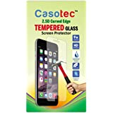 Casotec 2.5D Curved Edge Tempered Glass Screen Protector for Micromax Canvas Fire A104