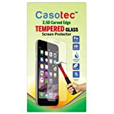 Casotec 2.5D Curved Edge Tempered Glass Screen Protector for Xiaomi Mi 4i