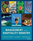 img - for Introduction to Management in the Hospitality Industry book / textbook / text book
