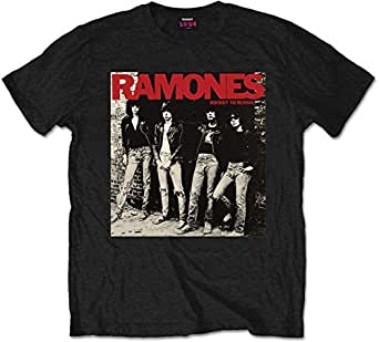 Ramones - Ramones Mens Tee: Rocket to Russia (Small) - Black - Small