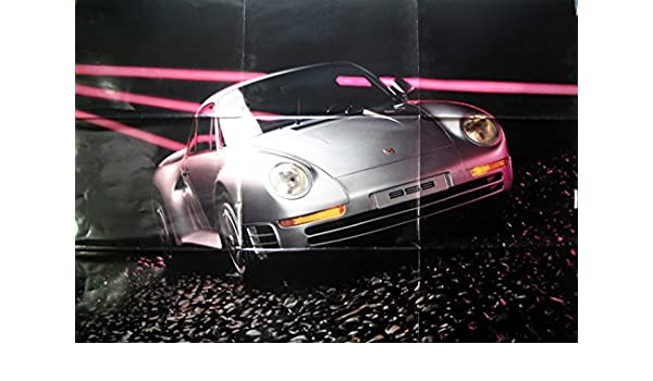 Amazon.com: 1986 Porsche 959 911 Turbo 930 928 944 Poster: Entertainment Collectibles