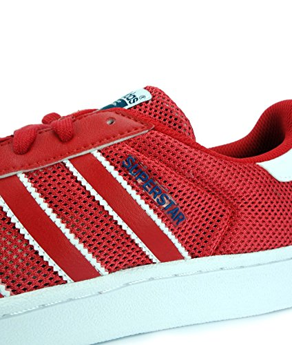 Bb5394 Stan Rouge Adidas Enfant Fille M20605 blanc Mode Junior Baskets Smith bleu 1P4CZ7Pq