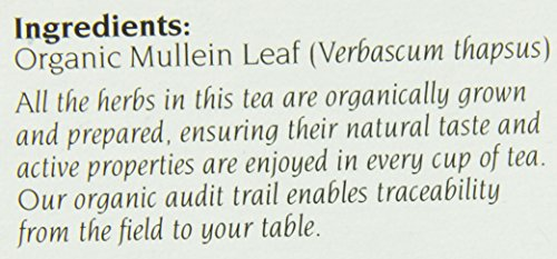 CELEBRATION HERBALS Mullein Leaf Organic 24 Bag, 0.02 Pound