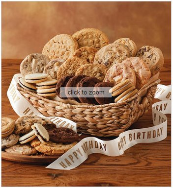 Harry & David Birthday Cookie Gift Basket