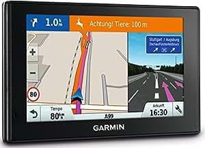 """Garmin DriveSmart 50 EU LMT-D - Navegador para coche (pantalla con función zoom táctil de 5"""", Garmin Real Directions, orientación dual, Digital Traffic, Bluetooth), negro"""